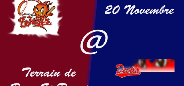 Match amical : Wisps @ Devils
